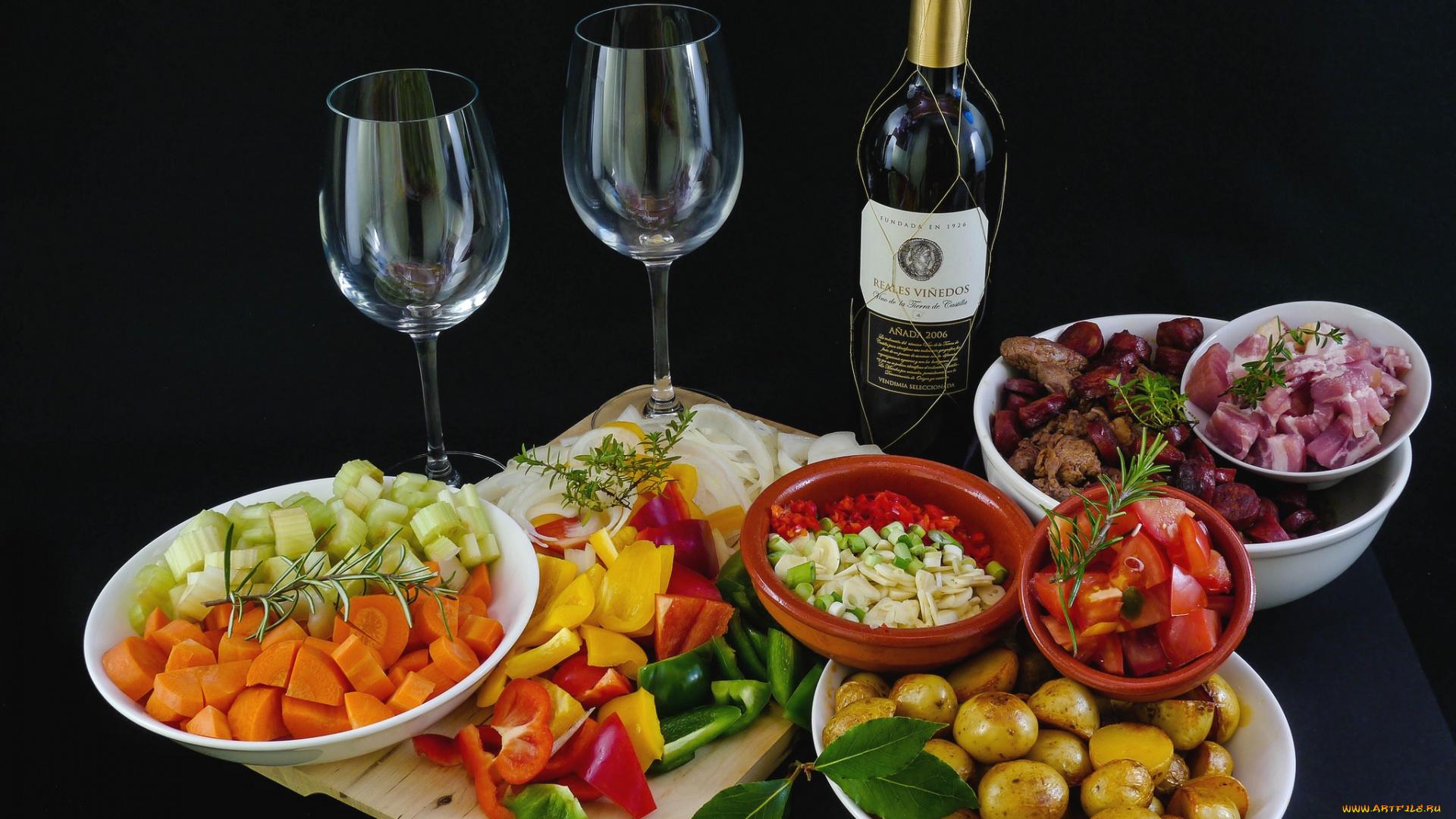 красивые картинки с вином и закуской перелистает