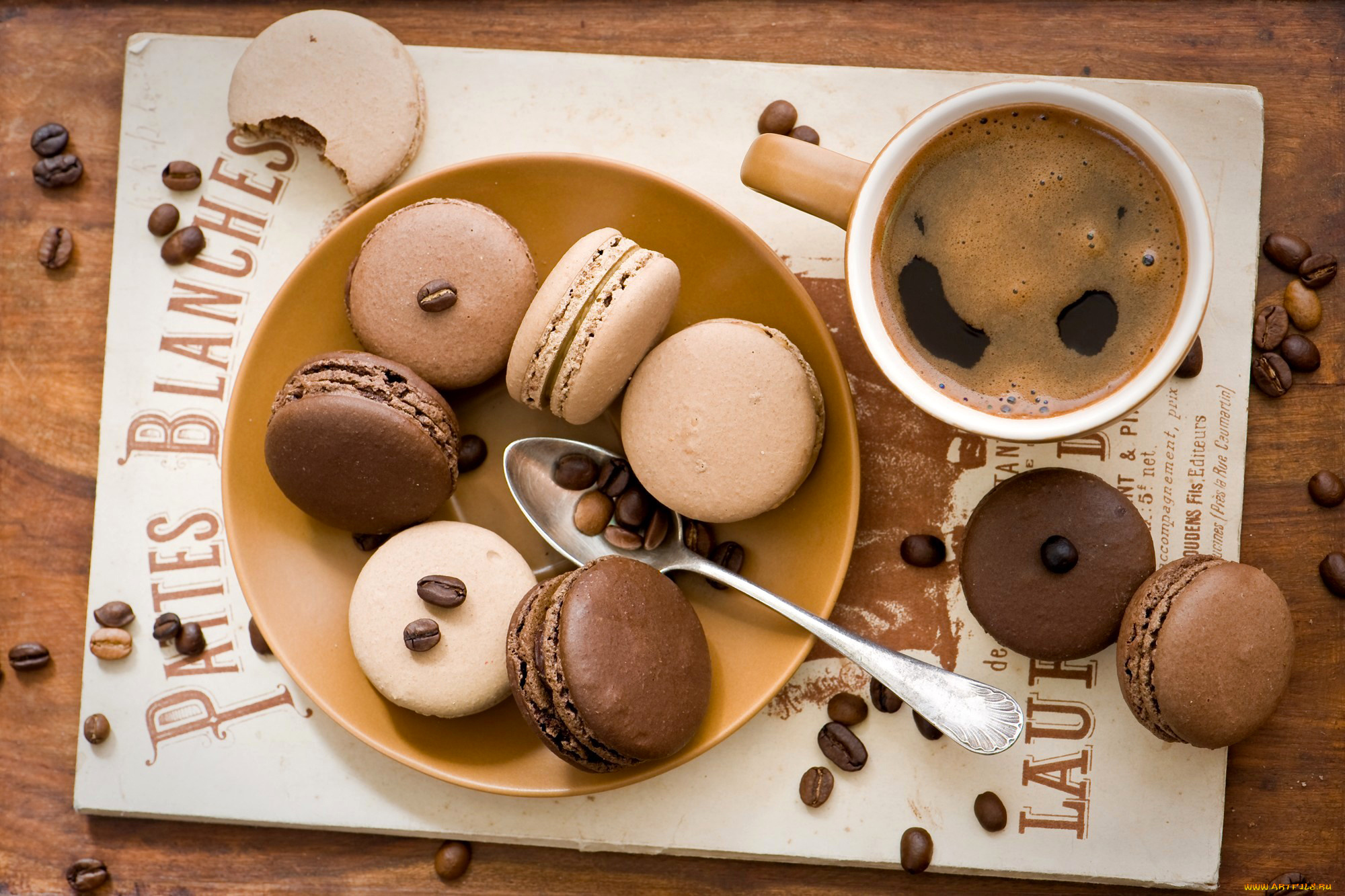 кофе со сладостями  № 140242 загрузить