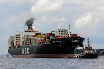 Картинка msc+oriane корабли грузовые+суда контейнеровоз