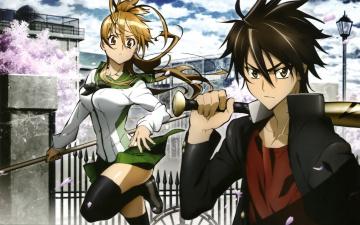 Картинка аниме highschool+of+the+dead персонажи