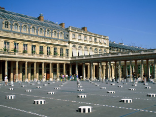 Картинка in the courtyard palais royal paris france города