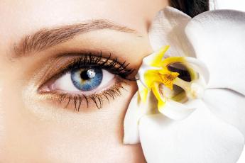 Картинка разное глаза орхидея