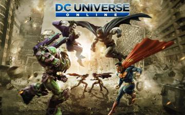 Картинка dc+universe+online видео+игры герои