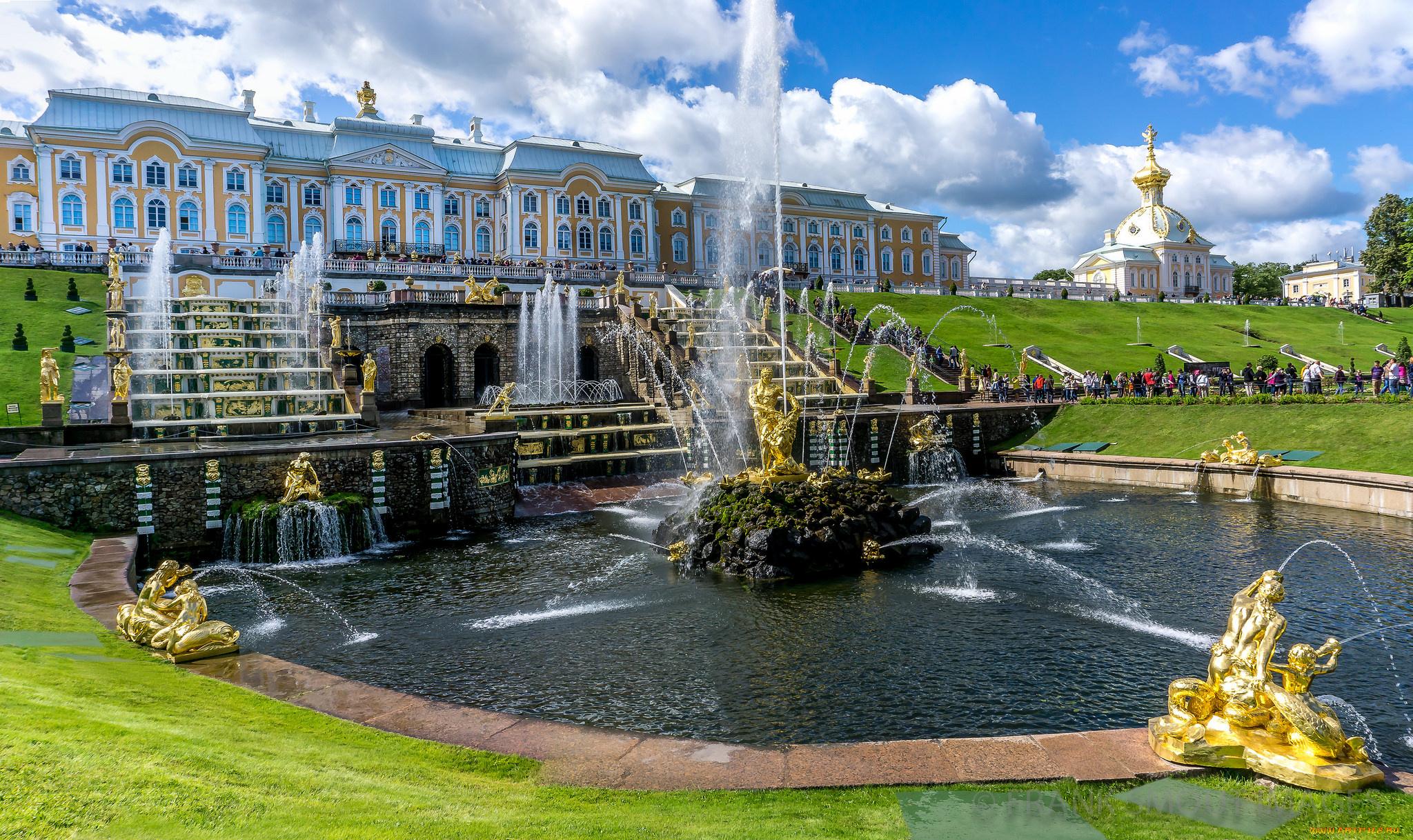 дворец фонтан  № 188192  скачать