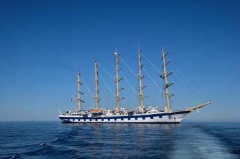 обоя royal clipper, корабли, парусники, паруса, мачты