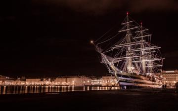 обоя amerigo vespucci, корабли, парусники, паруса, мачты