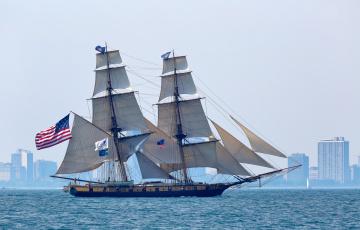 обоя niagara, корабли, парусники, паруса, мачты