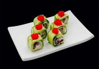 Картинка sushi еда рыба морепродукты суши роллы поднос