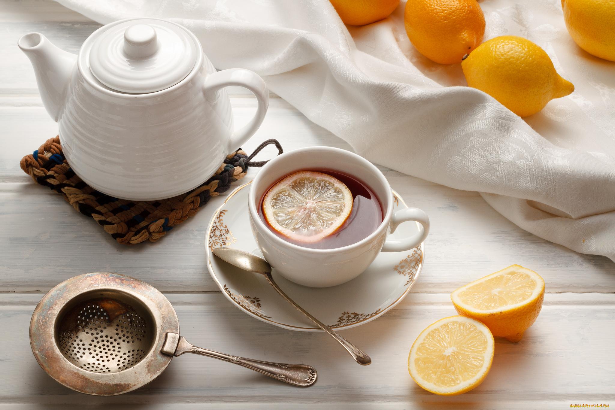 чай лимон чашка скачать