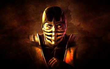 Картинка mortal+kombat видео+игры mortal+kombat+ 2011 mask ninja scorpion mortal kombat