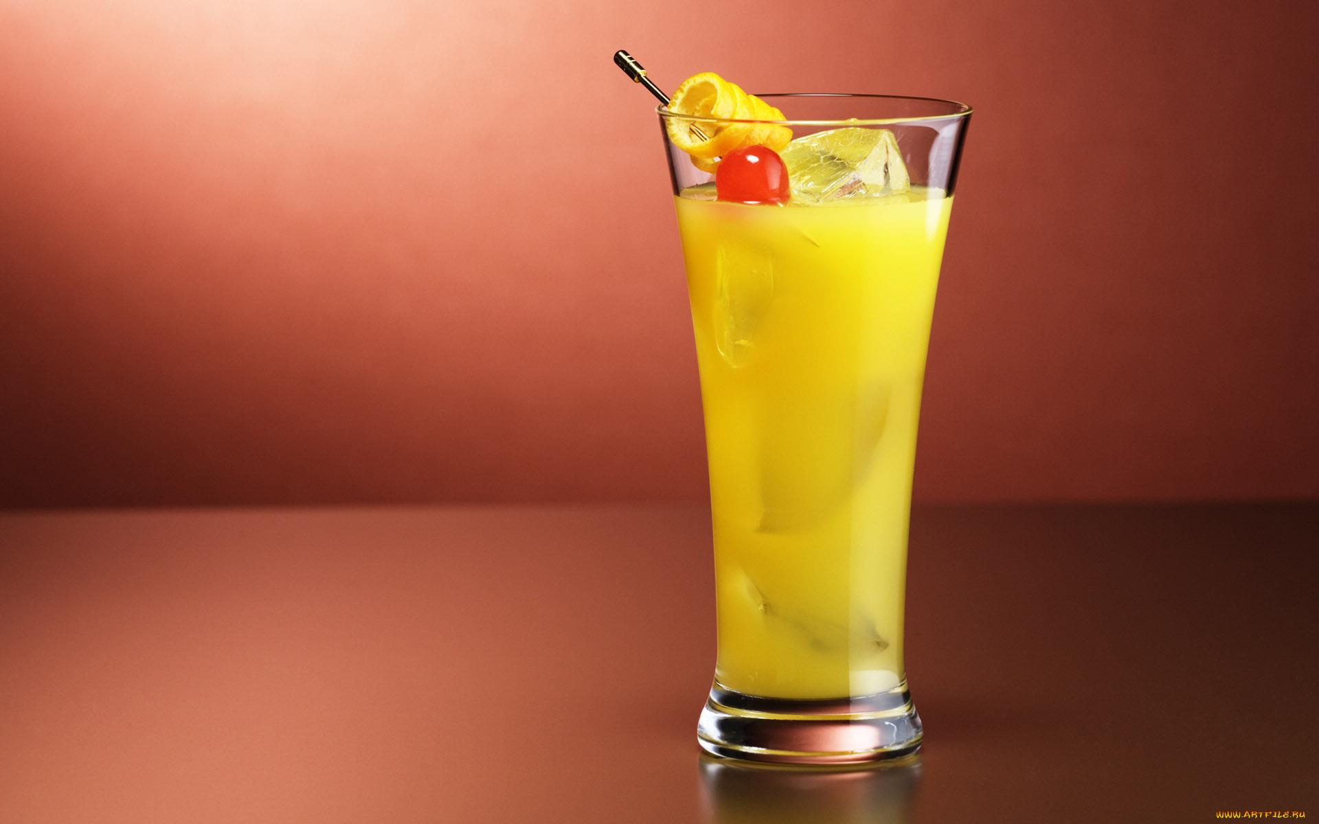 Лимонный коктэйль бесплатно