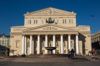 обоя большой театр, города, москва , россия, театр, большой, москва