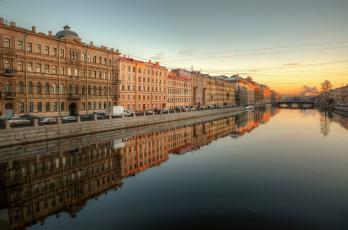 обоя города, санкт-петербург,  петергоф , россия, река, фонтанка