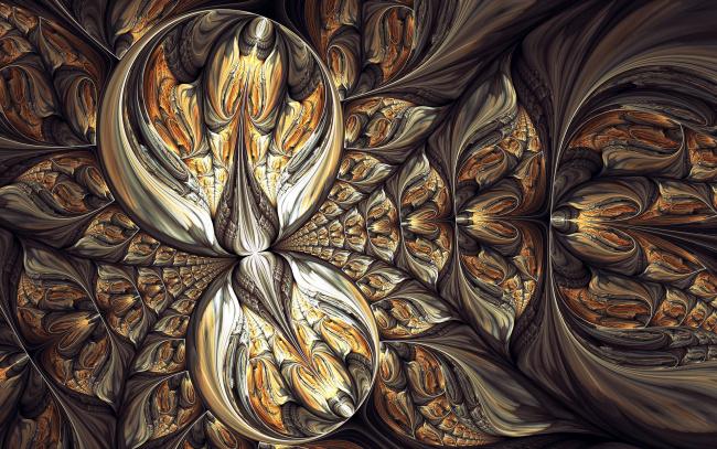 Обои картинки фото 3д графика, фракталы , fractal, узор, фон, цвета