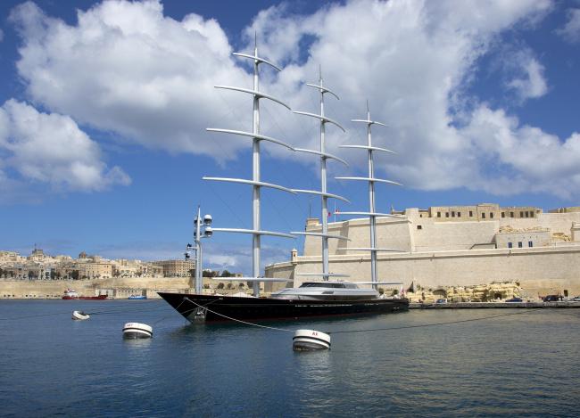 Обои картинки фото maltese falcon, корабли, Яхты, суперяхта