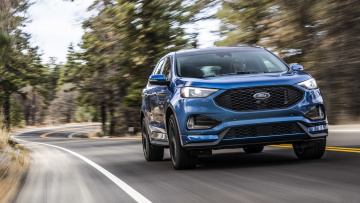 Картинка ford+edge+st+2019 автомобили ford blue edge 2019 st