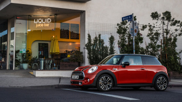 обоя mini hardtop 2 door 2019, автомобили, mini, door, 2, hardtop, 2019, red