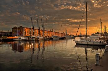 Картинка корабли порты+ +причалы гавань яхты