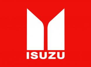 обоя бренды, авто-мото,  -  unknown, isuzu, фон, логотип