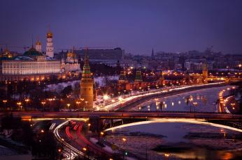 Картинка moscow+kremlin города москва+ россия столица