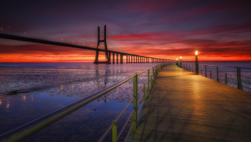 обоя города, - мосты, португалия, лиссабон, lisbon, portugal
