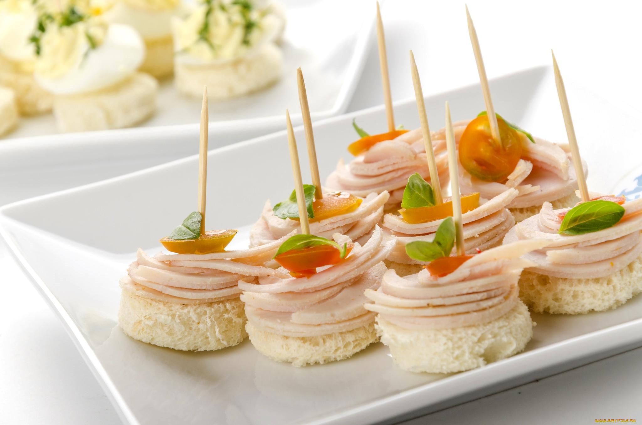 Романтичные картинки, картинки бутерброды канапе