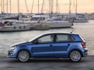 Картинка автомобили volkswagen polo bluegt 5-door typ 6r 2014