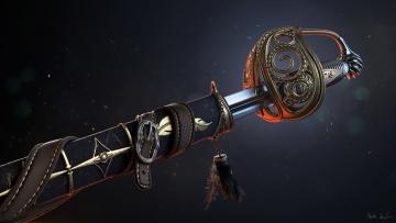 Картинка оружие 3d сабля