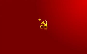 обоя разное, символы ссср,  россии, молот, серп