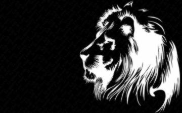 Картинка рисованные животные львы лев
