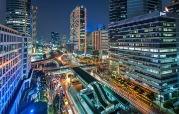 Картинка города бангкок таиланд здания