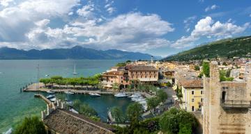 обоя города, - панорамы, италия, коммуна, торри-дель-бенако