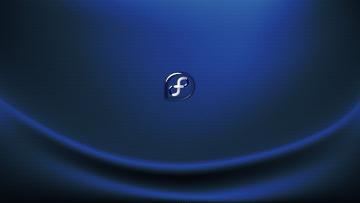 Картинка компьютеры fedora фон логотип