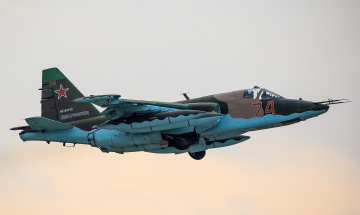 обоя su-25sm, авиация, боевые самолёты, штурмовик