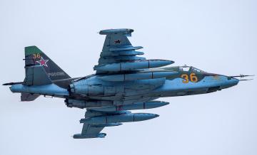 обоя su-25sm, авиация, 3д, рисованые, v-graphic, штурмовик