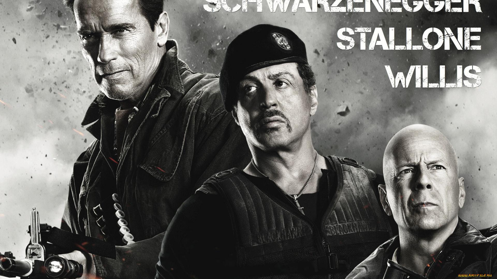 Bruce Willis, Expendables 2  № 1645369 без смс