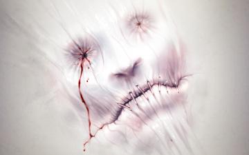 Картинка фэнтези существа шов