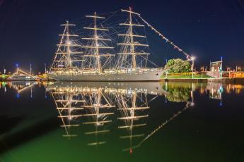 Картинка dar+mlodziezy корабли парусники судно мачты