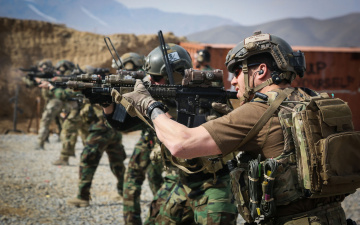 Картинка оружие армия спецназ солдаты united states special forces