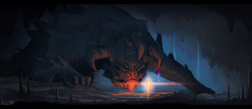 обоя фэнтези, драконы, mathias, leth