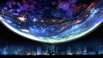 обоя фэнтези, иные миры,  иные времена, планета