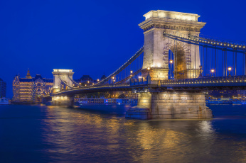 обоя sze&, 769, chenyi chain bridge, города, будапешт , венгрия, простор