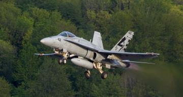 обоя fa-18c, авиация, боевые самолёты, истребитель
