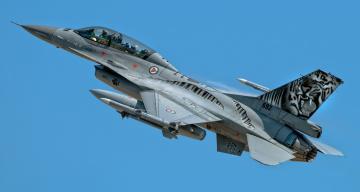 обоя f16, авиация, боевые самолёты, истребитель