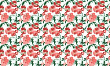 обоя векторная графика, цветы , flowers, пионы, узор, цветы
