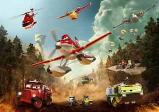 Картинка planes +fire+&+rescue мультфильмы +fire+and+rescue самолёты