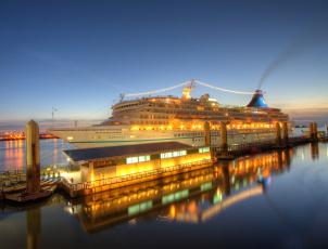 обоя artania in liverpool, корабли, лайнеры, лайнер, круиз