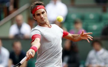 обоя roger federer, спорт, теннис, federer, roger, tennis