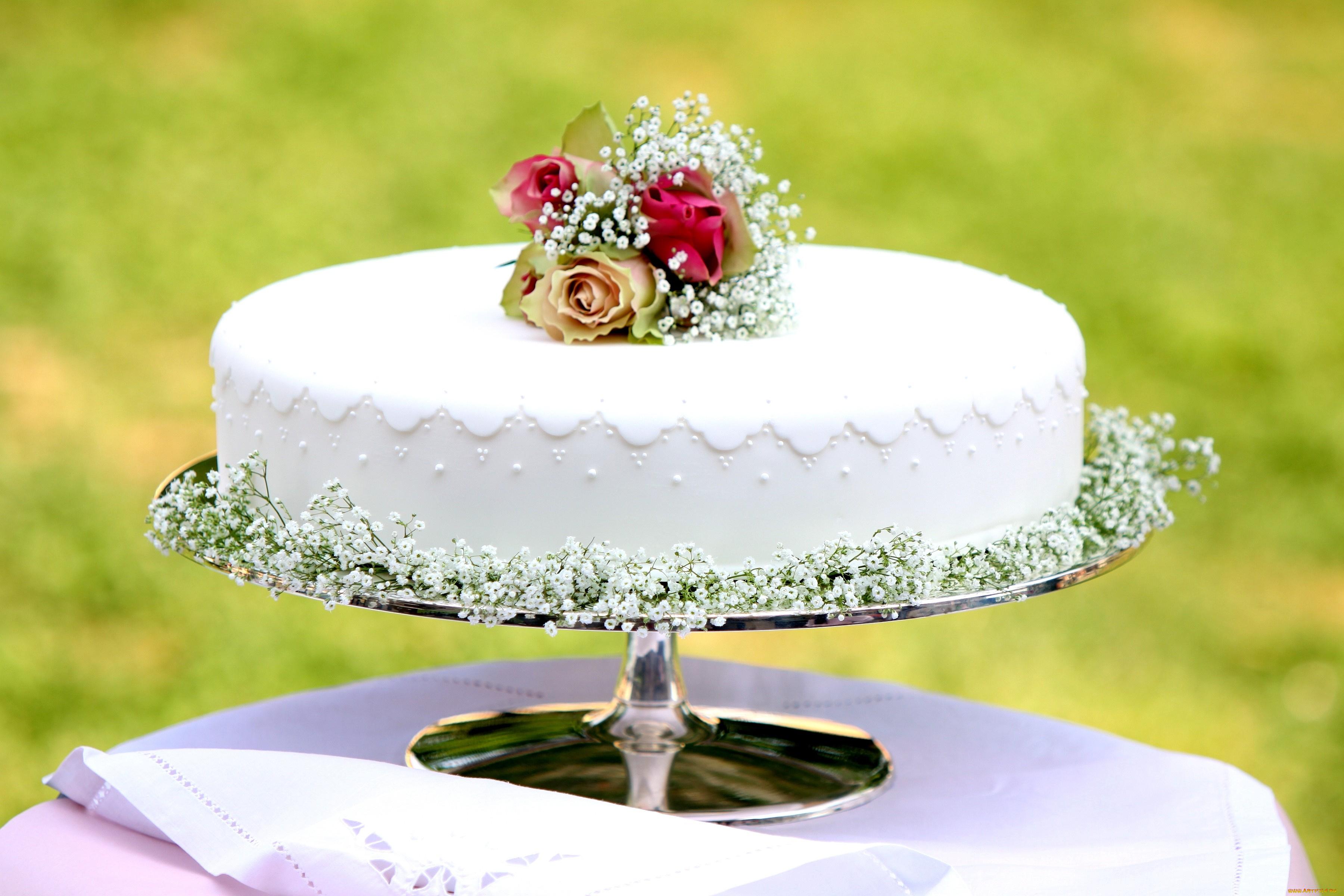 Свадебный торт  № 1408190 загрузить