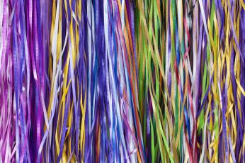 Картинка разное текстуры ленточки разноцветные тесьма